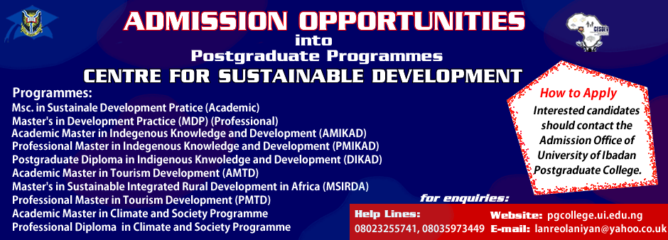 centre for sustainable development