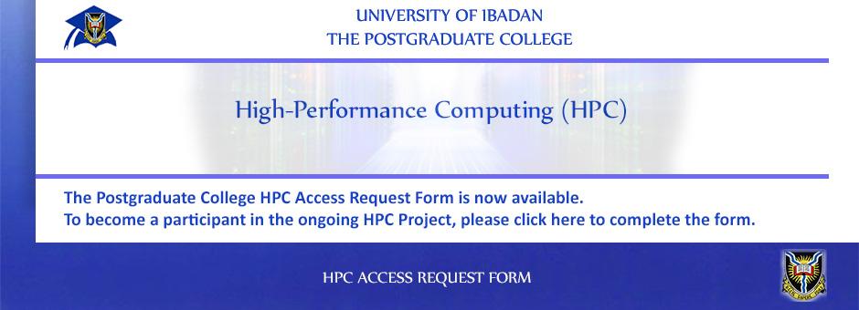 HPC Access Request Form